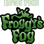 Equipment Proudly Sponsored by Froggy's Fog